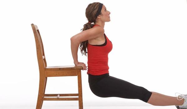 Triceps Dips, Gerakan Efektif Mengencangkan Lengan Untuk Wanita ...