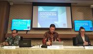 Kepala Perwakilan ADB di Indonesia, Winfried Wicklein, mengatakan ekonomi di Indonesia, diperkirakan masih akan tumbuh kuat tahun ini. (Wilfridus Setu Embu/Merdeka.com)