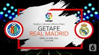 Getafe vs Real Madrid (liputan6.com/Abdillah)