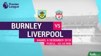 Premier League Burnley Vs Liverpool (Bola.com/Adreanus Titus)