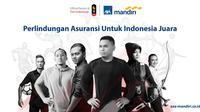 PT AXA Mandiri Financial Services (AXA Mandiri) memberikan asuransi gratis kepada para atlet dan ofisial Tim Indonesia yang berprestasi di ajang Pesta Olahraga Terbesar Asia 2018.