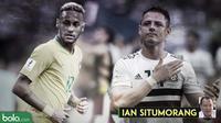 Kolom Ian Situmorang Brasil Vs Meksiko (Bola.com/Adreanus Titus)