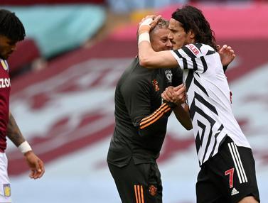 FOTO: Kesabaran Ole Bikin Manchester United Tunda Pesta Juara Manchester City
