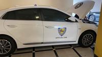 IMI gunakan mobil listrik sebagai kendaraan operasional. (Instagram/@bambang.soesatyo)