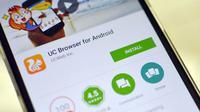 UC Browser bagi-bagi voucher diskon gratis. (Trak)