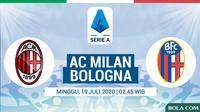 Serie A - AC Milan Vs Bologna (Bola.com/Adreanus Titus)