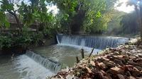 Bendungan Bareng di Kecamatan Baki, Sukoharjo, yang dibangun pada masa kolonial Belanda dikeliling sembilan sumber air yang tak pernah kering. (Solopos.com/Bony Eko Wicaksono)