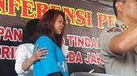 Kanjeng Ratu Keraton Agung Sejagat saat mengenakan pakaian tahanan Polda Jateng. (Liputan6.com/ Felek Wahyu)