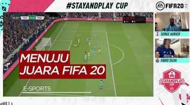Berita Video Justin Kluivert Susul Fabio Silva ke Perempat Final Kompetisi E-Sports FIFA 20