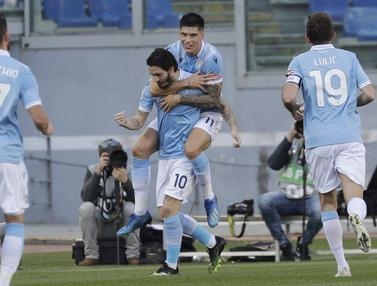 FOTO: Kalahkan Sampdoria, Lazio Geser Posisi Juventus di Klasemen Seri A