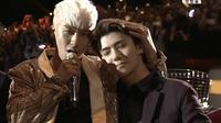 Seungri Big Bang dan Sehun EXO, membuktikan mereka bukan saingan meski berada di boyband yang berbeda (AllKpop)