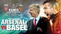 Arsenal FC vs FC Bâle (Liputan6.com/Abdillah)