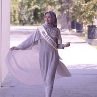 Pesona Salsabella Kanzu, runner up Puteri Muslimah Indonesia 2017. (Instagram @salsabellakanzu)