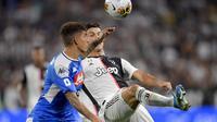 Cristiano Ronaldo dalam kemenangan 4-3 atas Napoli di Juventus Stadium, Minggu (1/9/2019). Doc:Juventus