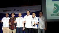 Konferensi pers hasil survei APJII 2018. Liputan6.com/Agustinus Mario Damar