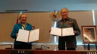 Kementerian Perdagangan (Kemendag) menandatangani komitmen penandatanganan perjanjian dagang atau Memorandum of Cooperation (MoC) dengan negara Eurasia.