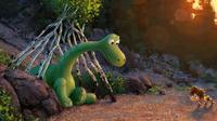 Tampilan Film Animasi The Good Dinosaur Dipamerkan