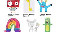 6 karya anak-anak pemenang kompetisi menggambar yang dilakukan oleh IKEA (Dok. IKEA)