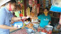 Mantri di BRI Unit Pasar Wage Cabang Purwokerto.