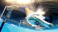 Perenang AS, Michael Phelps, saat start dalam final 200m gaya ganti perseorangan putra Olimpiade Rio 2016 di Olympic Aquatics Stadium, Rio de Janeiro, Brasil, (11/8/2016). Phelps meraih emas olimpiadenya yang ke-22. (Reuters/Michael Dalder)