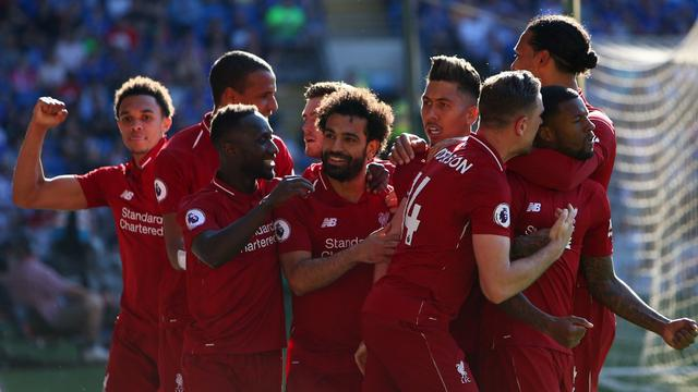 Liverpool Kudeta Manchester City Usai Tumbangkan Cardiff City