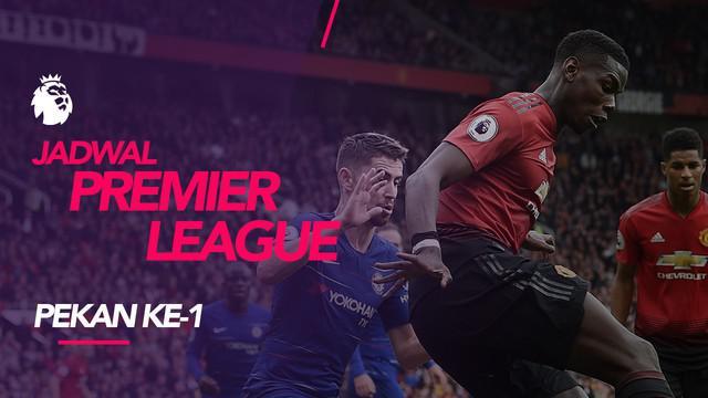 Berita video jadwal Premier League 2018-2019 pekan ke-1. Manchester United hadapi Chelsea, Minggu (11/8/2019) di Old Trafford, Manchester.