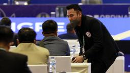 Kongres ini juga menjadi debut buat Raffi Ahmad dan Kaesang Pangarep. Seperti diketahui, keduanya merupakan pemilik klub Liga 2 yang akan berlaga pada musim ini. (Foto: Bola.com/M Iqbal Ichsan)