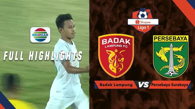 Berita video highlights Shopee Liga 1 2019 antara Perseru Badak Lampung FC melawan Persebaya Surabaya yang berakhir dengan skor 1-3, Selasa (20/8/2019).