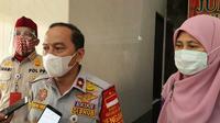 Juru Bicara Tim Gugus Tugas Percepatan Penanganan Covid-19 Kota Depok, Dadang Wihana. (Foto:Liputan6/Dicky Agung Prihanto)