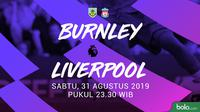 Premier League - Burnley Vs Liverpool (Bola.com/Adreanus Titus)