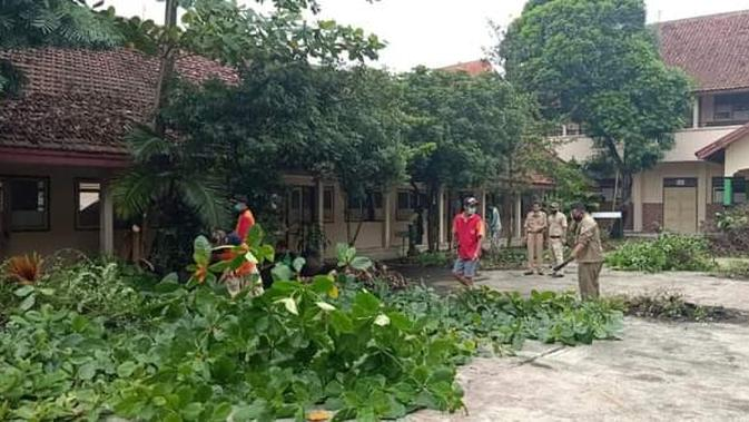 RS Penuh, Bekas Gedung Sekolah Disulap Jadi Ruang Isolasi Covid-19 di Purbalingga