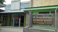 Di Kecamatan Ngawen ada prasasti untuk korban penganiayaan PKI di Blora. (Liputan6.com/Ahmad Adirin)