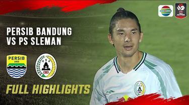 Berita video highlights semifinal leg 1 Piala Menpora 2021 antara Persib Bandung melawan PSS yang berakhir dengan skor 2-1, Jumat (16/4/2021) malam hari WIB.