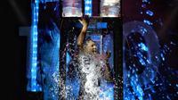 Demian Aditya pada acara SUPERHUMANZ show