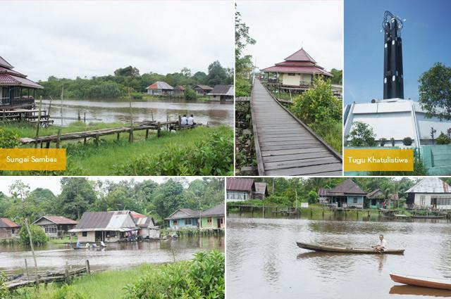 Berkano di sungai adalah salah satu ritual yang wajib dicoba di Kalimantan Barat