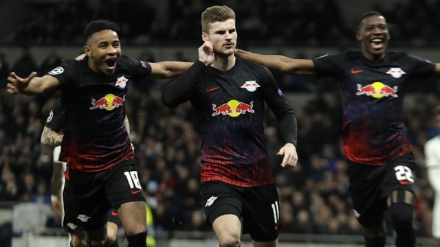 Gol Penalti Timo Werner Antar RB Leipzig Bungkam Tottenham