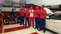 Grand opening Teaching Factory (TEFA) bengkel binaan Astra Otoparts yang diinisiasi oleh Shop & Drive -Shop & Bike dan Dinas Pendidikan DKI Jakarta berlangsung di SMK PGRI 20, Jakarta Timur.