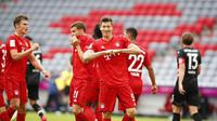 Striker Bayern Munchen, Robert Lewandowski (Twitter Munchen)