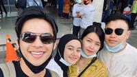 Momen Kebersamaan Dinda Hauw dan Kakak Rey Mbayang. (Sumber: Instagram.com/ceritarein_ofc)
