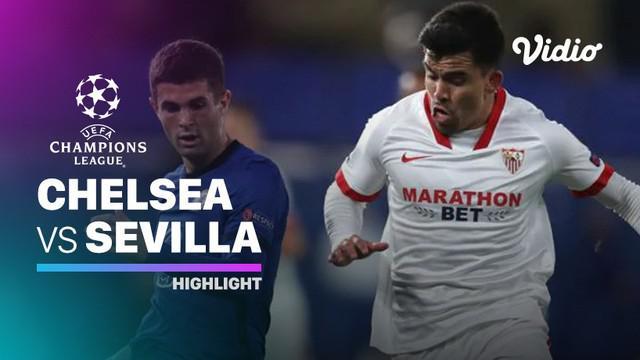 Berita Video bermain di Stamford Bridge, Chelsea imbang atas Sevilla