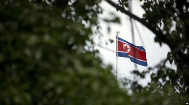Ilustrasi Korea Utara. (AP)
