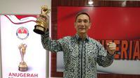 Yusuf Hamka, pengusaha muslim Tionghoa meraih Anugerah Bela Negara 2018 karena membuka warung nasi murah meriah. (Liputan6.com/Ady Anugrahadi)