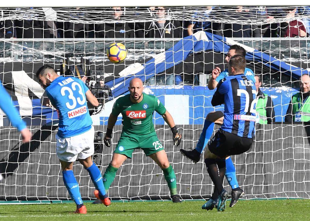 Atalanta vs Napoli (Twitter Napoli)