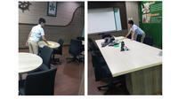 Nino sedang bekerja (Sumber: Facebook/Taufiq Tyo Ramadhantyo