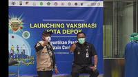 Eks Wakil Wali Kota Depok, Pradi Supriatna. (Liputan6.com/Dicky Agung Prihanto)