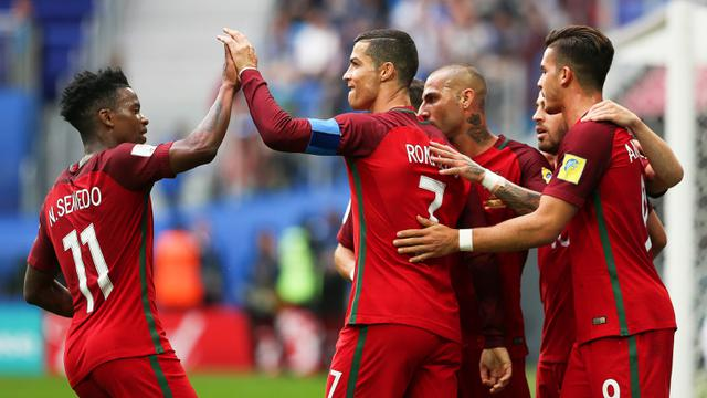 Portugal piala konfederasi 2017 selandia baru cristiano ronaldo