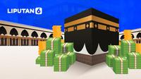 Banner Infografis Cek Fakta Hoaks Gerogoti Dana Haji (Liputan6.com/Abdillah)