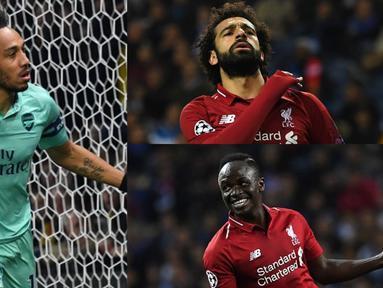 Persaingan menjadi jawara top scorer Premier League telah usai. Tiga bintang Premier League keluar sebagai pemenang peraih gol terbanyak. Namun dari segi produktifitas assist ada perbedaan diantara bintang tersebut. (Kolase Foto AFP)
