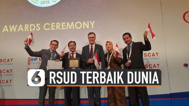 RSUD dr Iskak Tulungagung, Jatim mendapatkan perhatian dunia. Dinobatkan jadi salah satu RS terbaik di dunia.