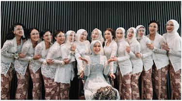 6 Potret Bridesmaid di Lamaran Lesty Kejora, Bertabur Bintang